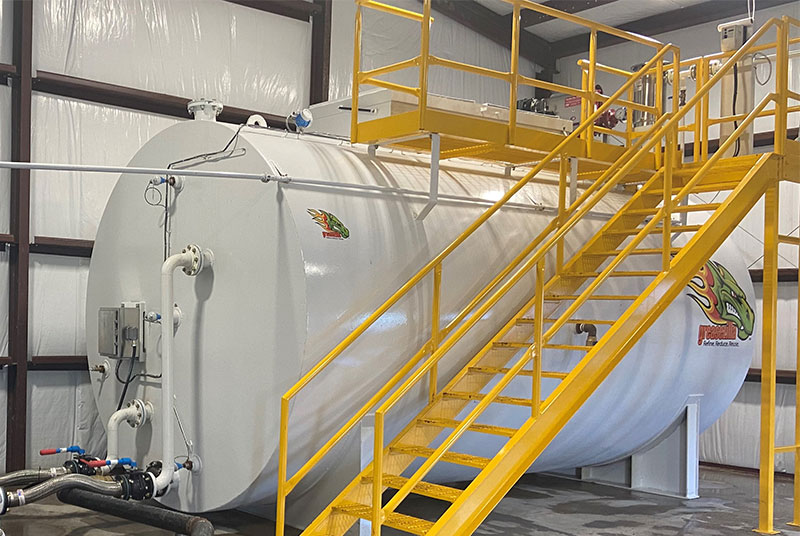 Greasezilla hydronic grease separation tank