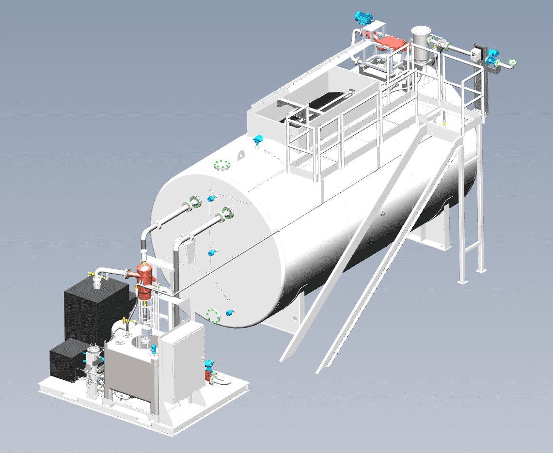 Greasezilla system diagram